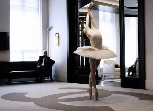 Chanel couture ballet